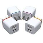 New              Bakeey 2.1A Dual Port USB Charger Fast Charging Dual USB Wall Charger Adapter For Huawei P30 P40 Pro Xiaomi Mi10 Redmi Note 9S S20