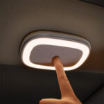 New              Baseus USB Charging Touch Senor Car Roof Night Light Ceiling Magnet Lamp Wireless Automobile Car Interior Reading Light