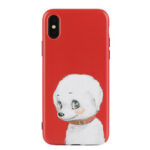 New              Fashion Pure Dog Cartoon Pattern Soft TPU Protective Case for iPhone X / XS / XR / XS Max / 7 / 8 / 7 Plus / 8 Plus / 6 / 6S / 6S Plus / 6 Plus
