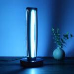 New              Home UVC Ozone Ultraviolet Germicidal Lamp Remote UV Sterilization Timing Light