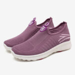 New              Women Large Size Mesh Comfy Breathable Outdoor Casual Running Sneakers