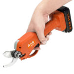 New              DAGO 21V 40mm Rechargeable Electric Pruning Shears Cordless Secateur Branch Cutter Battery Pruning Shears Electric Tree Branches Cutter
