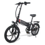 New              SAMEBIKE 20LVXD30 10.4Ah 48V 350W 20 in Folding Electric Bike 35km/h Top Speed 80km Mileage Max Load 120kg E-bike City Bike