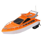 New              4CH 2.4G Electric Racing RC Boat Ship Remote Control High Speed Kids Child Toys Gift Random Color