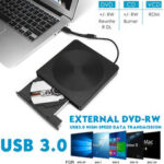 New              USB 3.0 External CD DVD RW Writer Type-c Drive Burner Reader Player For Laptop