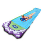 New              72x424CM Lawn Water Slides Slip and Slide for Kids Lawn Garden Play Swimming Pool Games Outdoor Party Water Toys