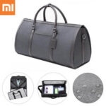 New              90 FUN Large Capacity Foldable Luggage Bag Waterproof Cylinder Handbag Suit Storage Duffel Shoulder Bag Pack for Travel Business Outdoor From Xiaomi Youpin