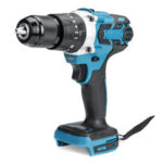 New              350N.m 3 In 1 Brushless Drill Brushless Impact Drill Driver Hammer Adapted To 18V Makita Battery
