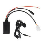 New              3 Pin AUX Audio Cable Adaptor bluetooth For Honda-Goldwing GL1800 5-12V BT 5908
