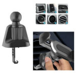 New              Bakeey Upgrade Version Clip Universal Wheel 360° Rotation 17mm Car Air Vent Clip Ball Head Support Car Phone Holder Stand