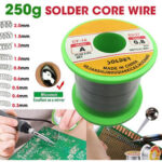 New              250g Solder Wire 63/37 Tin Lead Line Soldering 0.3/0.4/0.5/0.6/0.8/1.0/1.2/1.5/2.0mm