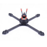 New              Cpro200 5 Inch 200mm Wheelbase 5mm Arm Carbon Fiber X Type FPV Racing Frame Kit for RC Drone 20*20mm / 30.5*30.5mm