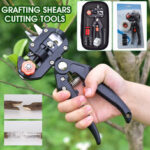 New              10mm Garden Grafting Tool Set Kit Fruit Tree Pro Pruning Shears Scissor Cutting Tools