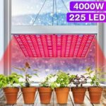 New              4000W 225 LED Grow Light Plant Hydroponic Full Spectrum Indoor Plant Flower