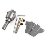 New              Ring Drill Bit with Blade Wooden Ring Maker Wooden Beads Drill Rotary Bead Molding Tool