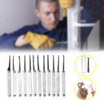 New              Unlocking Locksmith Practice Lock Pick Key Extractor Padlock Lockpick Tool Kits