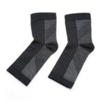 New              1Pairs Socks Magnetische Voetbrace Foot Sleeves Wear Copper Infused Magnetic Foot support Compression Ankle Brace Socks