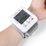 New              Boxym Wrist Blood Pressure Monitor Automatic LCD Blood Pressure Measurement Electronic Sphygmomanometer Tonometer Health Household Heart Rate Equipment
