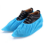 New              SGODDE 100PCS/Lot Disposable Overshoes Shoe Care Kits Plastic Rain Waterproof Shoe Covers Boot Covers For 34-46 Yard