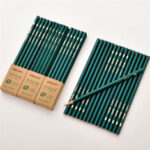 New              Deli  33310/33311/33312 Mechanical Pencils Wooden HB 2H 2B Drawing Pencil Stationery School Students Art Supplies