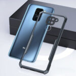 New              Bakeey for Xiaomi Redmi Note 9 / Redmi 10X 4G Case Armor Shockproof Anti-fingerprint Transparent Hard PC & Soft TPU Edge Protective Case