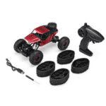 New              1/12 2.4G 4WD Metal Shell Rock Crawler Snow RC Car Vehicle Models