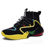 New              Men's High-top Basketball Shoes Breathable Running  Sneakers Sport Climbing Walking Jogging Boots