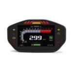 New              14000RPM Motorcycle TFT LCD Display Digital Speedometer Odometer 6 Gear Backlight Meter For 1 2 4 Cylinders Universal