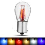 New              4-Filament COB LED 1156 BAU15S PY21W LED Turn Signal Light Rear Reverse Stop Lamp Bulb 6 Colors For DC12-24V Cars