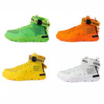 New              Men Comfortable Summer Men Casual Sneakers Breathable Lightweight Mesh High-top Shoes