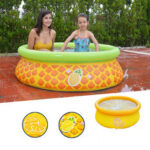 New              150x41cm Inflatable PVC Baby Swimming Pool Safety Children Bathing Tub Pool Round Summer Water Party
