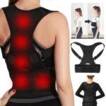 New              Adjustable Back Support Posture Corrector Belt For Men Women Portable Spine Back Shoulder Lumbar Posture Correction