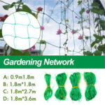 New              Nylon Trellis Plant Support Mesh Fence Tent Climbing Net Pea Bean Fruit
