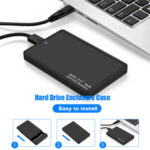 New              External Portable 2TB USB 3.0 Hard Drive Ultra Slim SATA Storage Devices Case