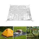 New              Naturehike 125/160/180x200cm Multifunction Picnic Mat 3 Layers Waterproof Aluminum Foil Mat Sunshading Canopy
