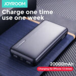 New              JOYROOM Power Bank 20000mAh LED Display 2 USB Power Supply With Mico USB Type-C Input Fast Charging For iPhone XS 11Pro Huawei P30 P40 Pro Xiaomi Mi10 Oneplus 8Pro