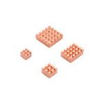 New              Caturda C2231 4Pcs Pure Copper Heatsink Kit Specially for Raspberry Pi 4B