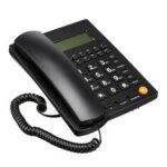 New              Home Telephone Landline Phone Display Caller ID hands-free Telephone Desk Home Office Hotel Restaurant Use