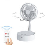 New              LyRay Portable Folding Retractable Electric Water Spray Hydration Fan Desk Telescopic Lamp Remote Control Fan USB Air Humidifier Charging with Night Light
