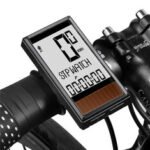 New              WEST BIKING Wireless Solar Bike Computer 5 Languages Waterproof Backlight LCD Display Odometer Speedometer for MTB Road Bike Scooter