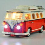 New              DIY LED Light Lighting Kit for Lego 10220 Volkswagens T1 Campers Van Bricks Y H