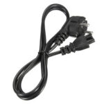 New              EU 3-Prong AC Power Cord 2 Pin Adapter Cable 250V 10A Interface Laptop Ac Power Adapter Netbook Charger