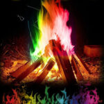New              30g Mystical Fire Coloured Magic Flame for Bonfire Campfire Party Fireplace Flames Powder Magic Trick Pyrotechnics Toy