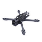 New              STEELE 5 220mm Wheelbase 5mm Arm Thickness Carbon Fiber X Type 5 Inch Freestyle Frame Kit Support DJI Air Unit for RC Drone FPV Racing