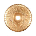 New              100mm Carbide Wood Sanding Carving Shaping Disc for Angle Grinder Grinding Wheel