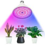 New              E27 290LED Plant Grow Light Full Spectrum Glowth Lamp Set for Flower Seeds Indoor Greenhouse AC85-265V