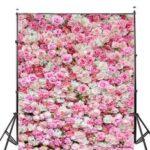 New              1×1.5m 1.5×2.1m 1.8×2.7m Rose Floral Vinyl Photography Background Wedding Birthday Decor Photo Backdrop