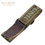 New              NAOMI Guitar Strap Guitar Accessories Adjustable Shoulder Strap Musical Instrument Parts Dark Green
