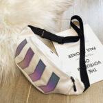 New              Men Reflective Tactical Hip-Hop Chest Bag Crossbody Bag Sling bag