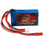 New              DINOGY 11.1V 500mAh 65C 3S Lipo Battery JST Plug for FPV RC Racing Drone